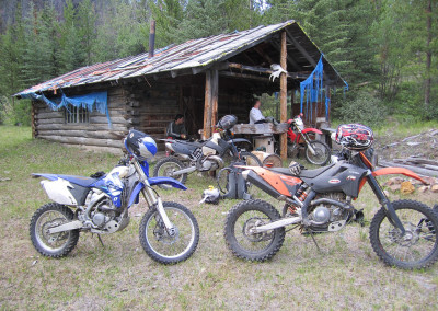 Dirt Bike Cabin