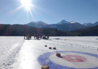 Winterfest Curling